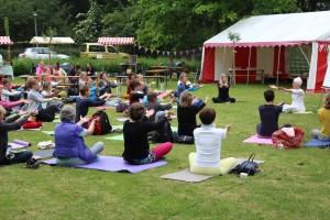 Yogafestival Wageningen 2015