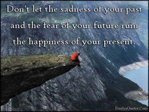 angst voor de toekomst